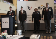 HCC Veterans Awards Dinner